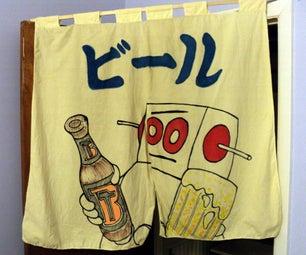 Noren No Biru Japanese Bricobart Beer Instructables Robot Banner