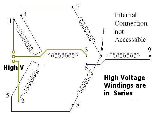 Wiring Diagram For Single Phase Reversible 120 Volt Motor On A Cutler Hammer 9441h37b O Controller Instructables