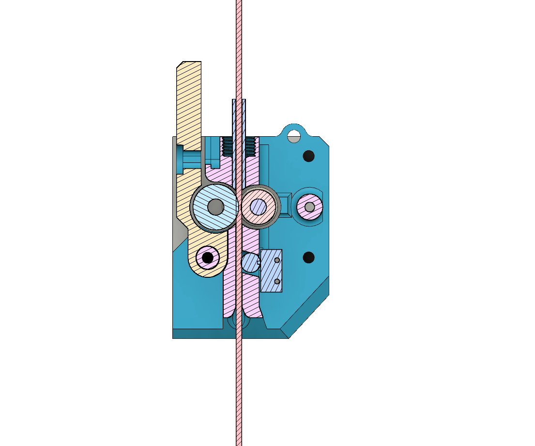 Extruder LightBlue