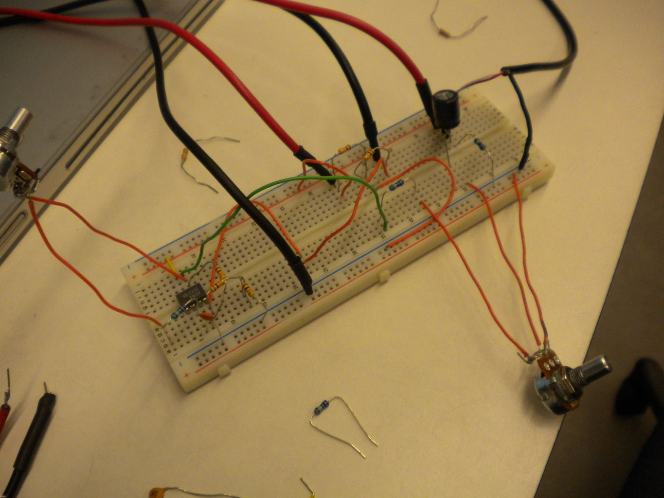 Lay Out and Solder Circuit