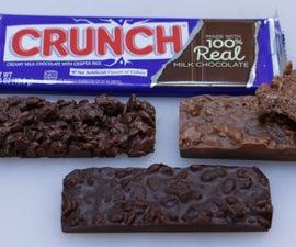 Nestle Crunch Bar Copycat