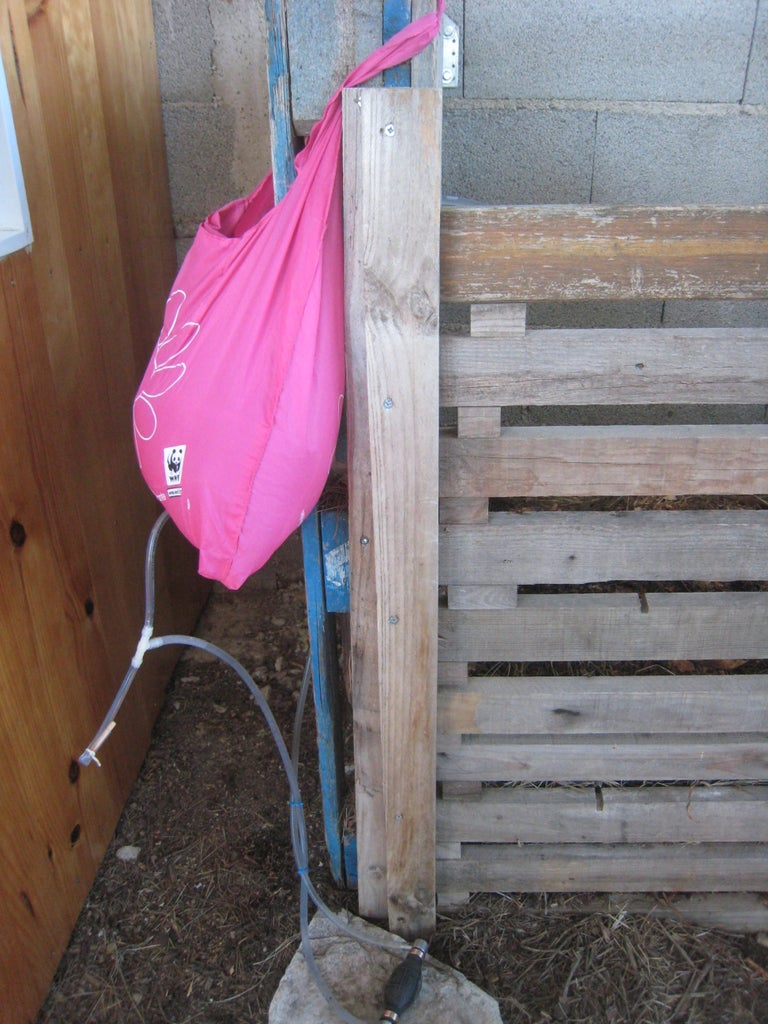 Transposition to Backyard Dry Toilets Washing Hand Solution