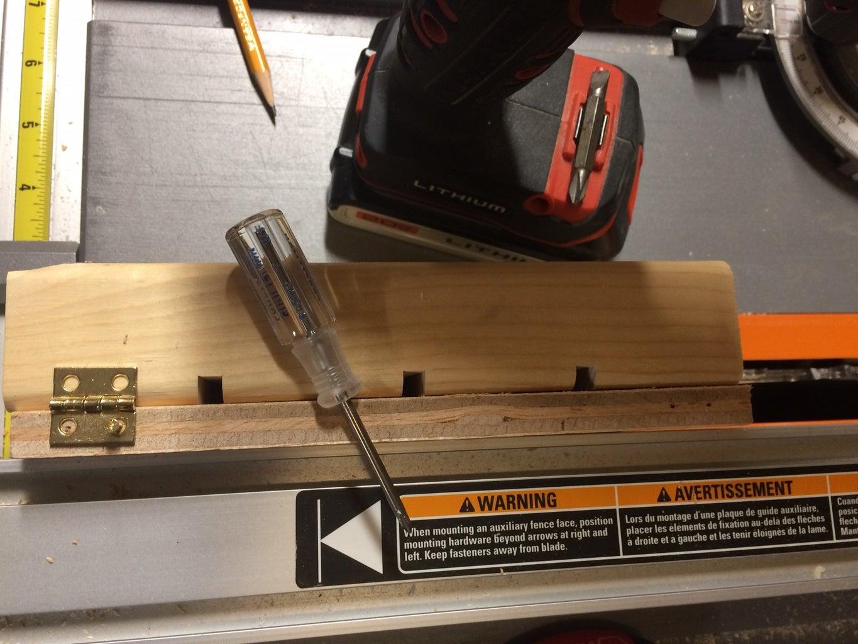 Installing the Hinge