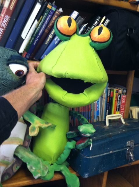 Particularly Prolific Polyfoam Puppets