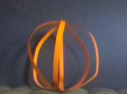 Making the Pumpkin Shape