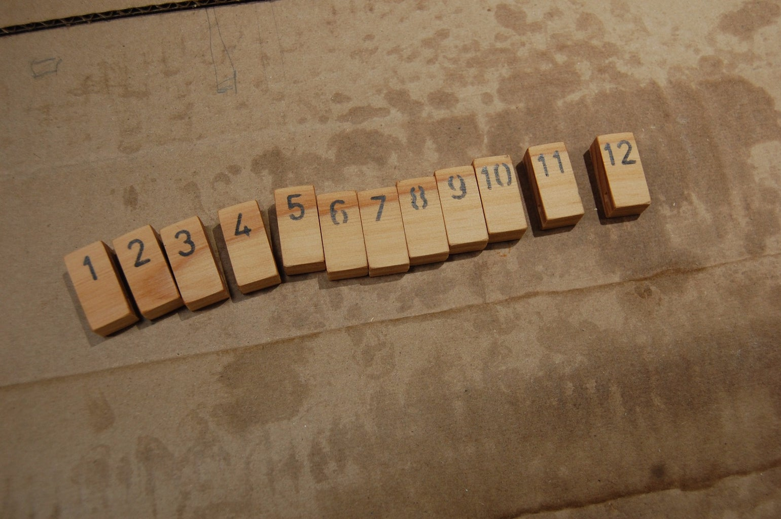 Numbering the Tiles