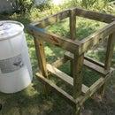 Condensation Reclimation Rain Barrel.