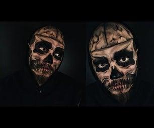 Rick Genest/ Tate Langdon Skull Makeup