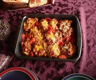 Arabic Food 102 -  Beethnjaan - Middle Eastern Eggplant Dish Recipe