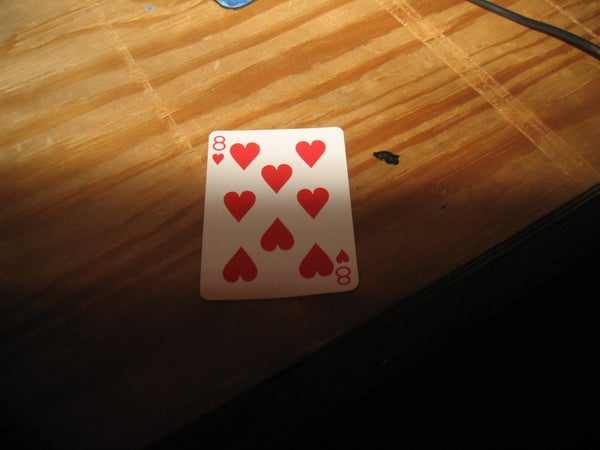 How to Throw a Playing Card!