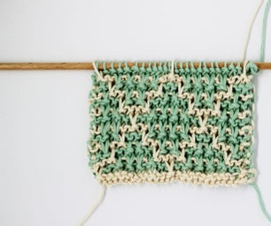 How to Knit Color Mosaics in Garter Stitch