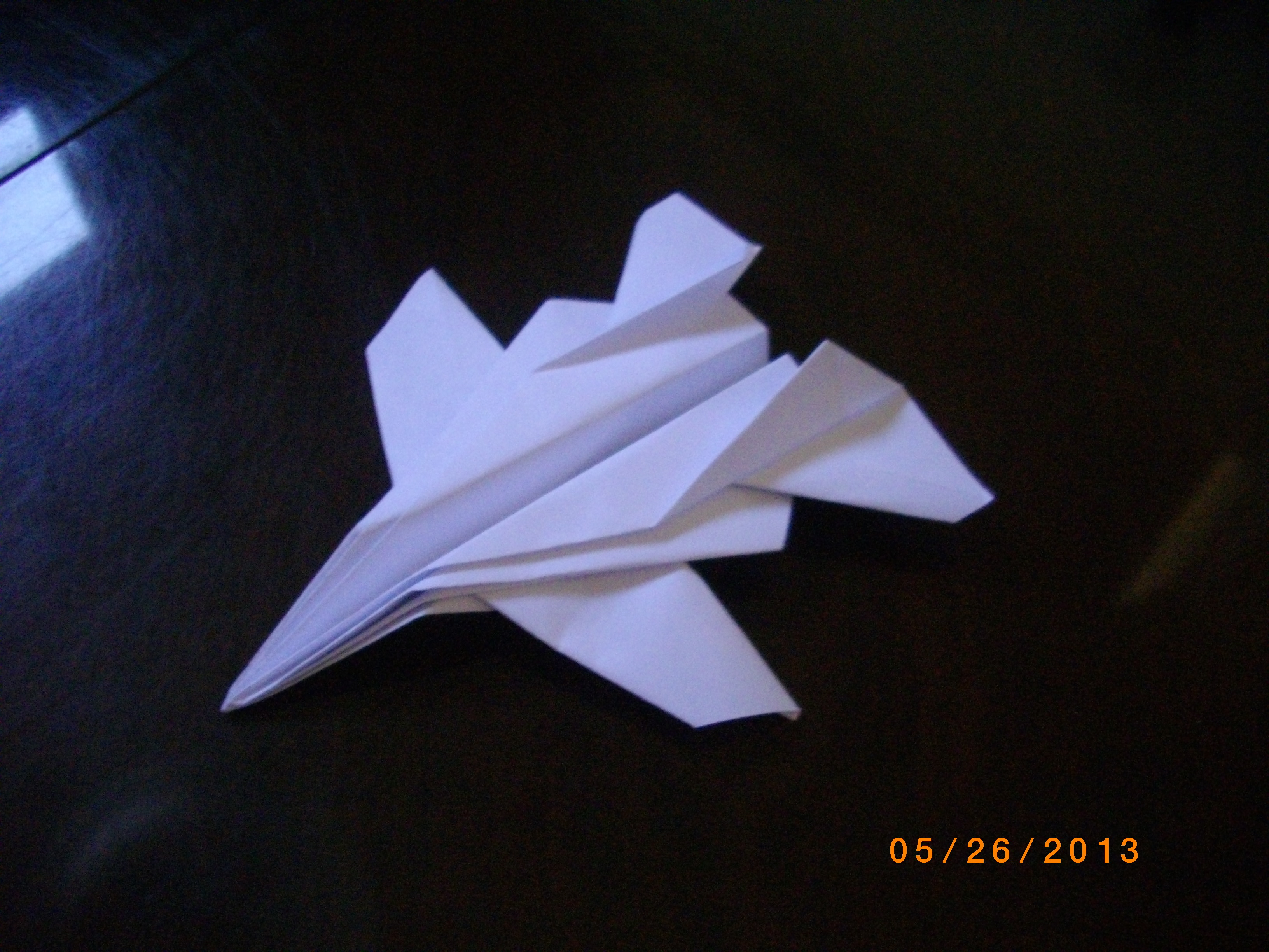 """The """"Drone Fighter"""" paper-plane!"""