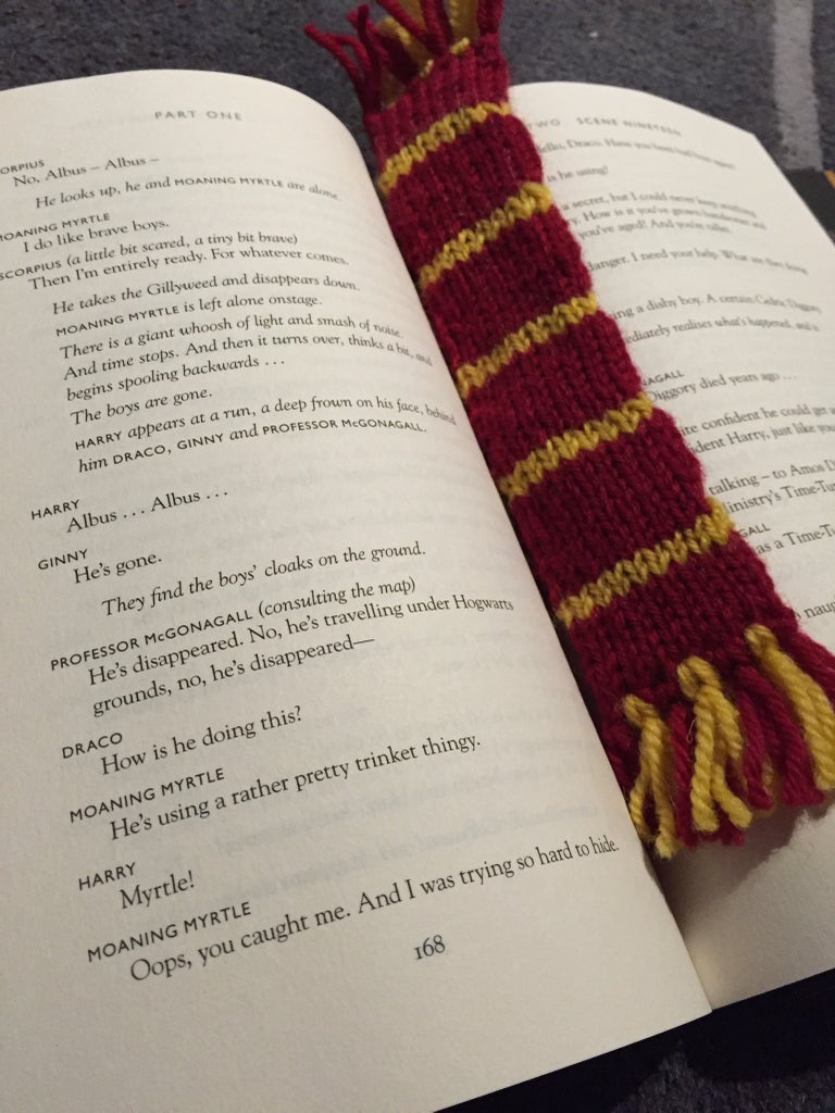 Harry Potter Scarf Bookmarks