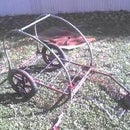 low $ offroad/cargo bicycle trailer conversion from kid trailer