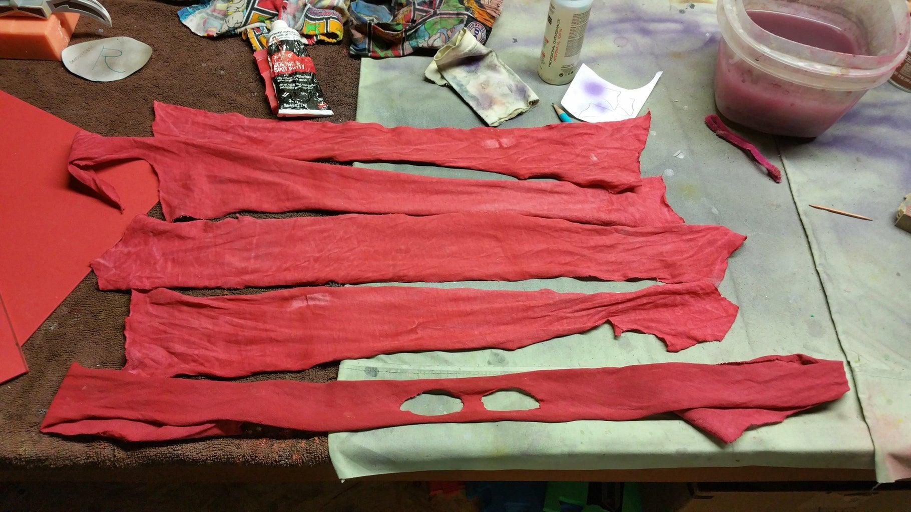Mask, Arm, and Leg Wraps