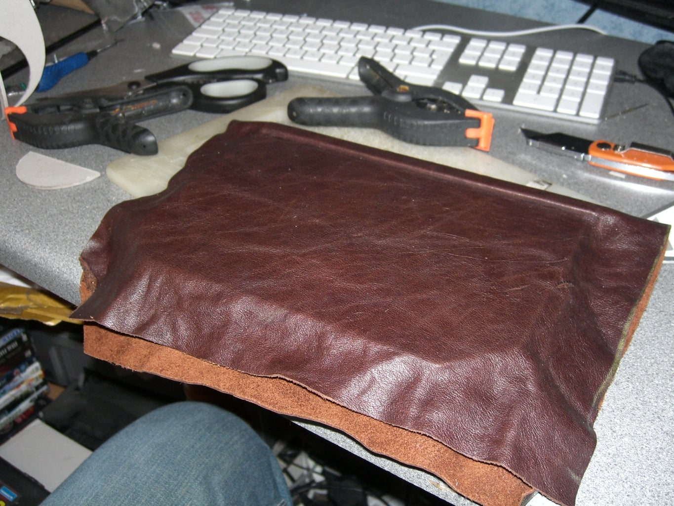 More Leather...