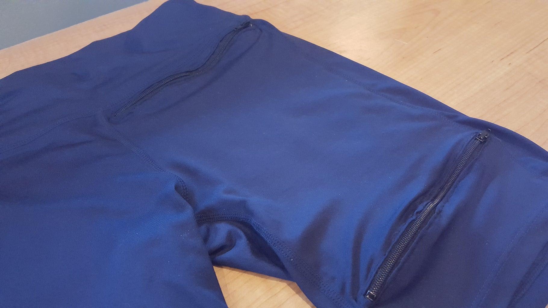 Sew the Finishing Seam on the Bottom Zipper