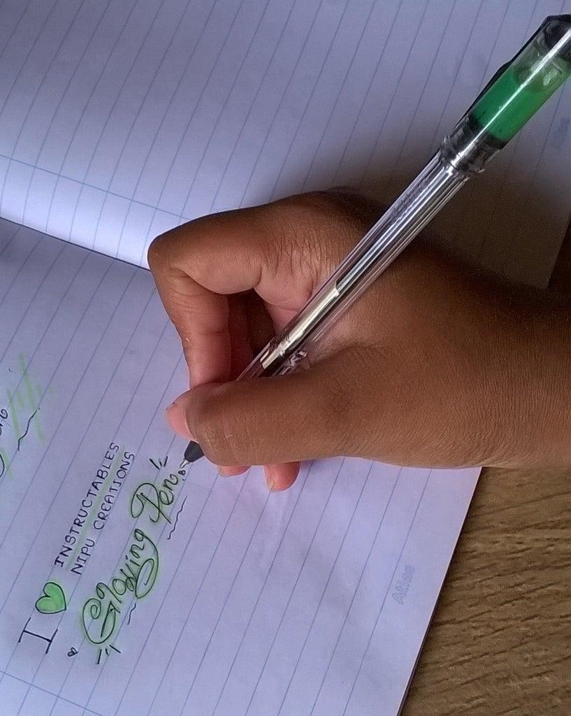 Glowing Pen