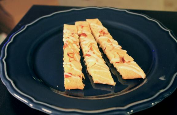 Scandanavian Almond Bars with a non-dairy variation