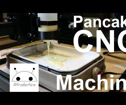 Pancake CNC Machine (Turn your CNC into a Pancake Machine)