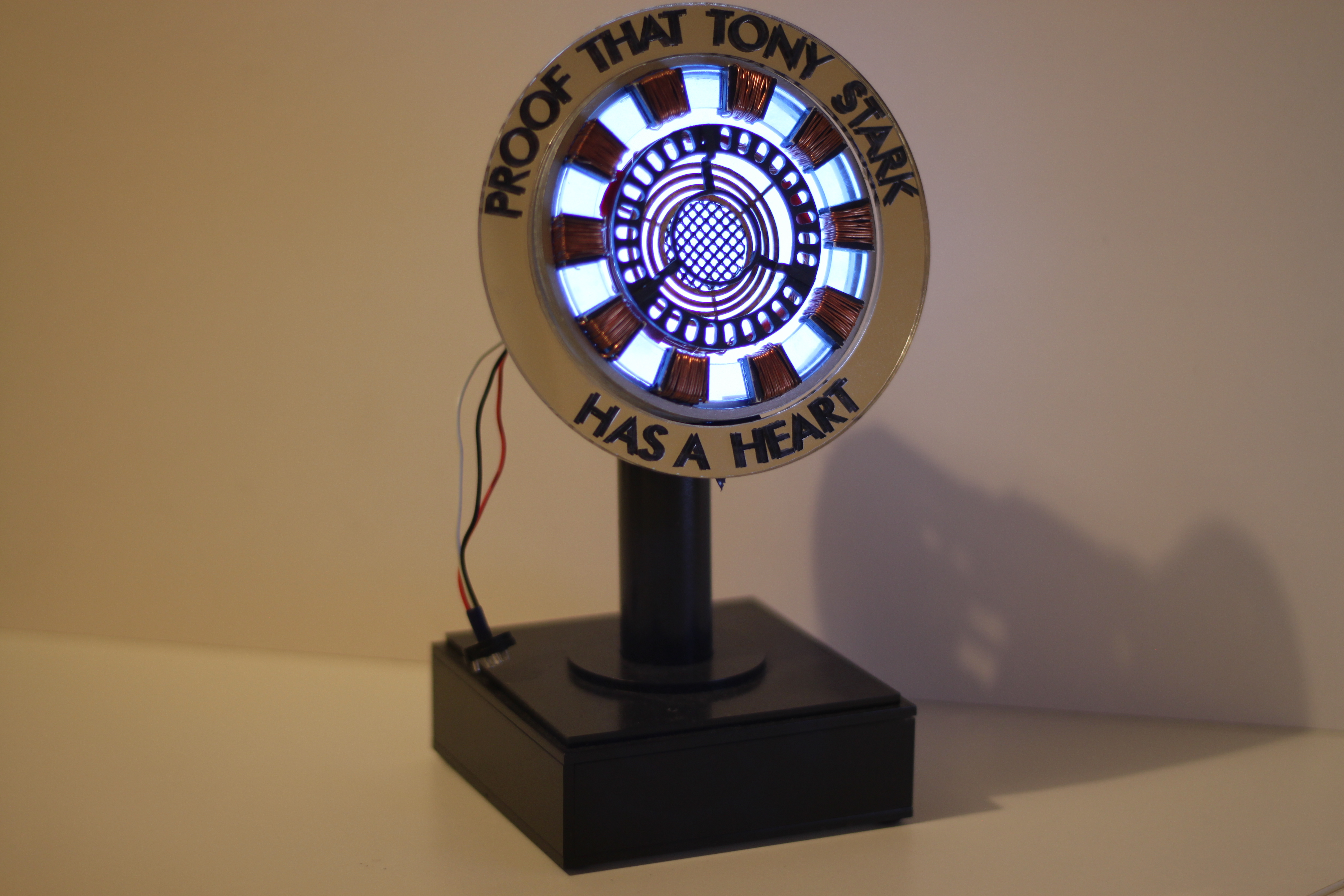 How to build iron mans arc reactor.