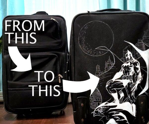 如何定制您的行李-不能画?我也不会。如何轻松转移图纸。