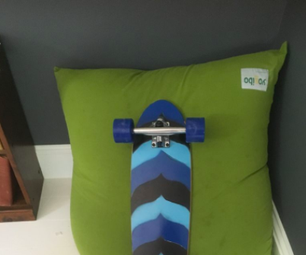 Diy Custom Painted Cruiser Skateboard