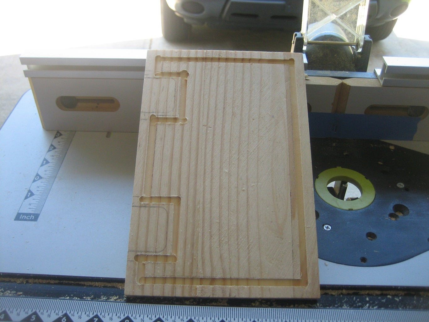 ROUTING THE INLAY GROOVES