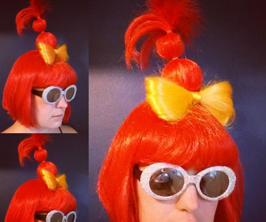 Dr. Seuss-inspired Hair