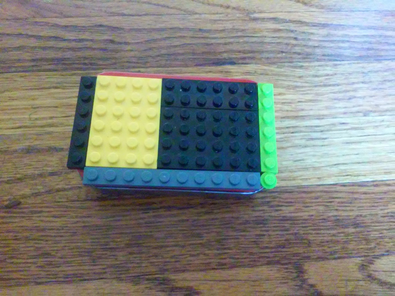 Step 1: Supergluing the LEGO's