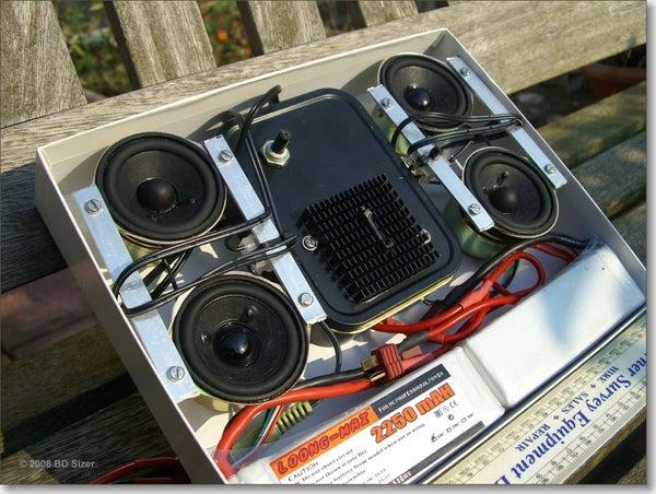 Super Portable, Super Loud, Long Lasting, Battery Powered Speakers