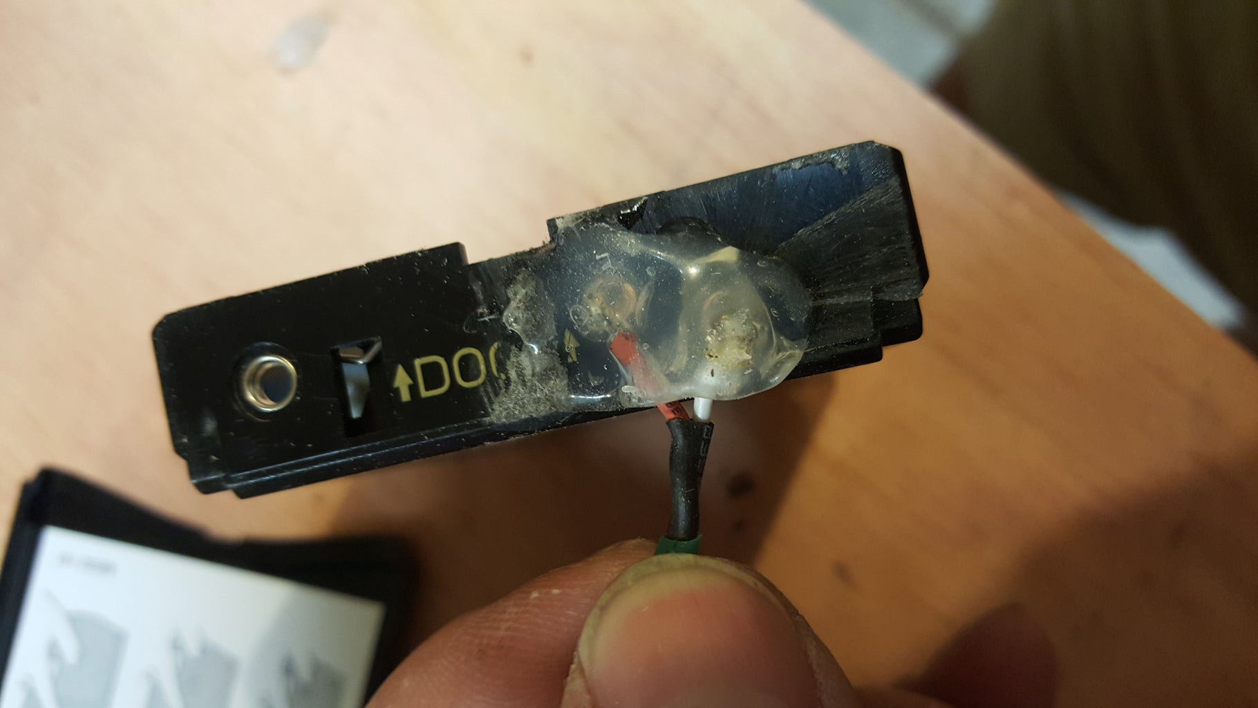 Modify the Battery Compartment.