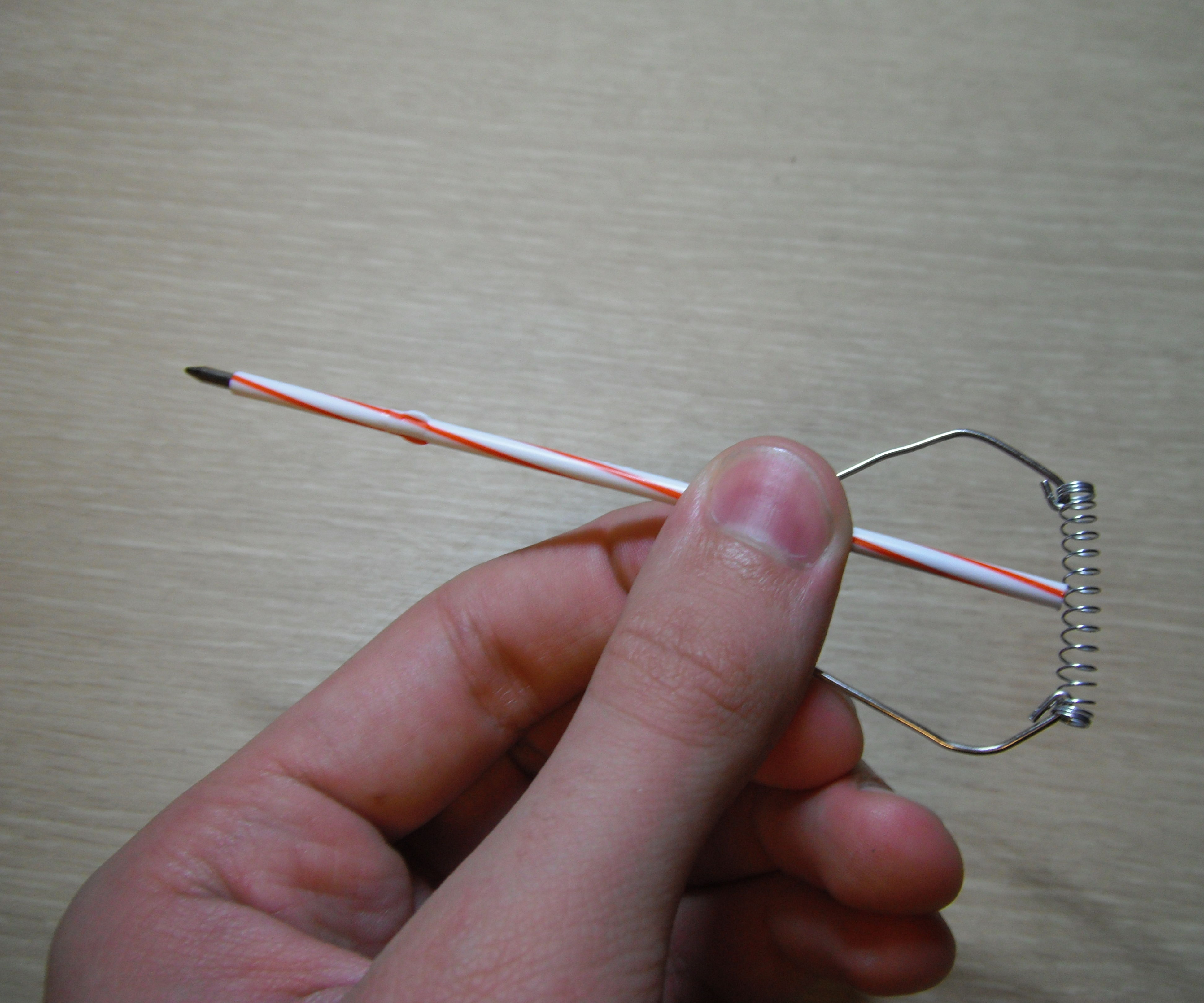 Paperclip Crossbow