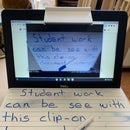 $3 Clip on Document Camera