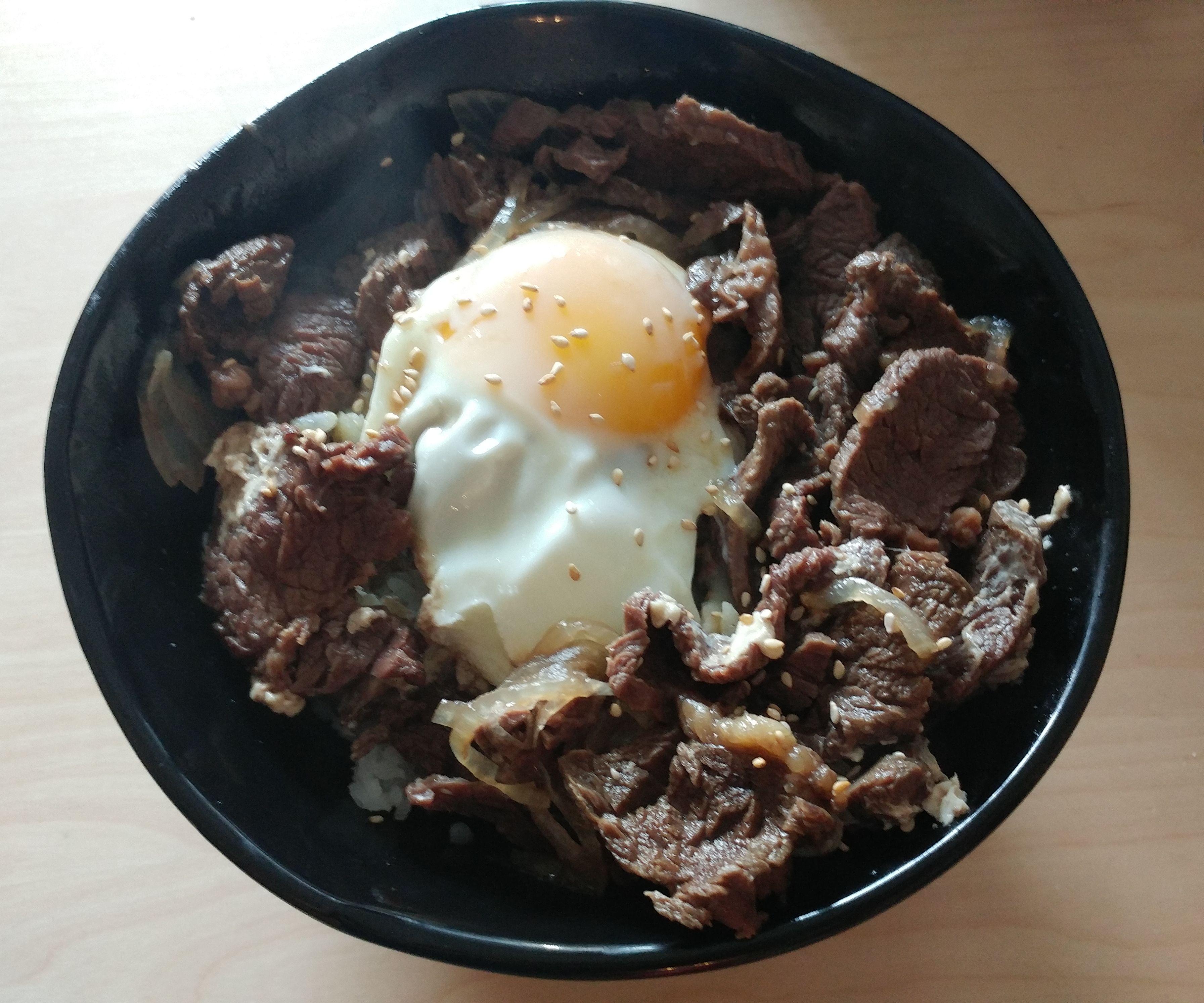 Gyudon (Beef Bowl)