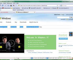 How to Use Windows 7!