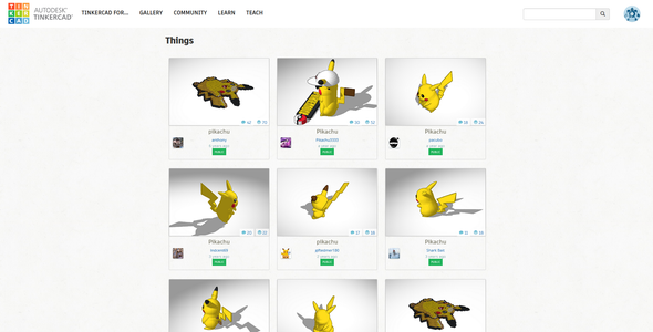 Finding Something to Print on TinkerCAD