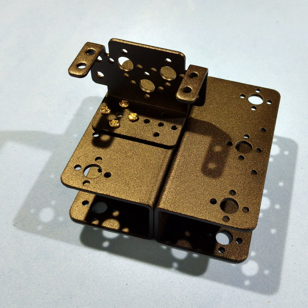 Assembling the Robotic Arm Pt2 - Servo #1