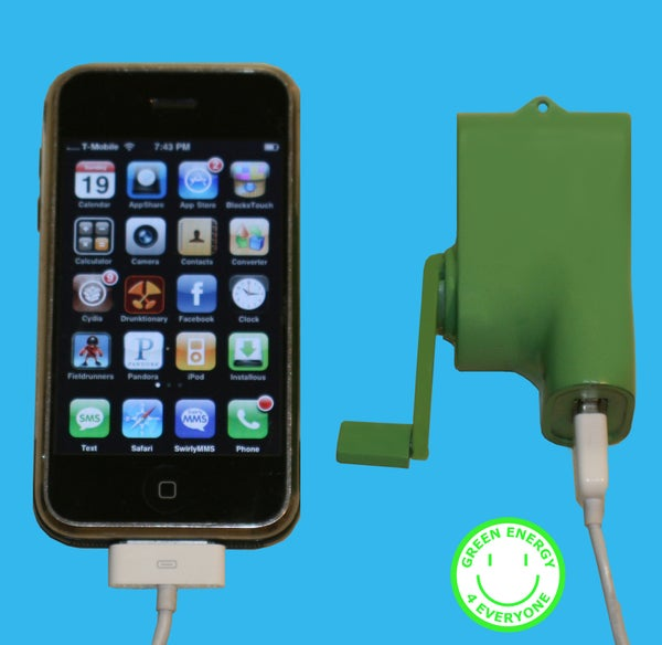 USB Iphone Ipod Dynamo Charger