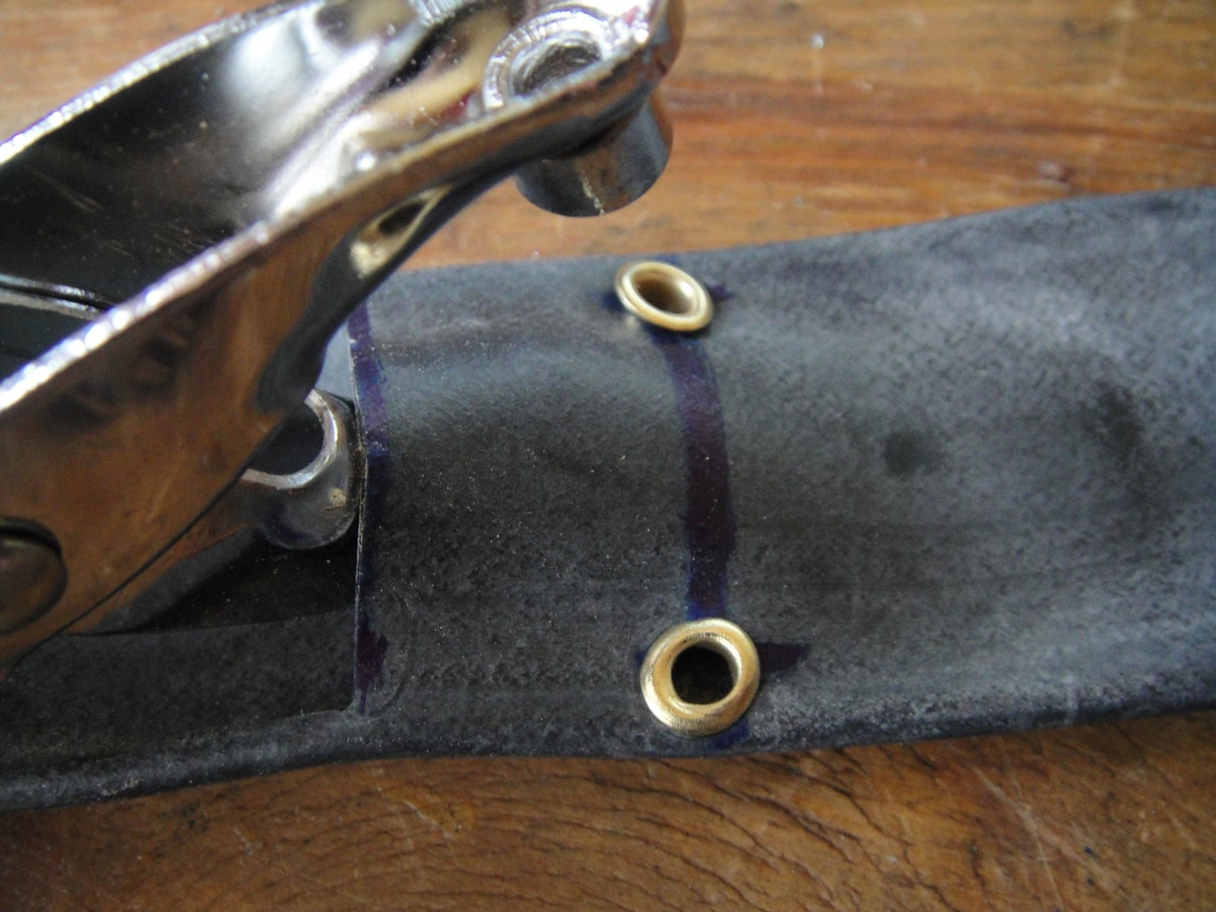 The Mudflap and Eyelets.