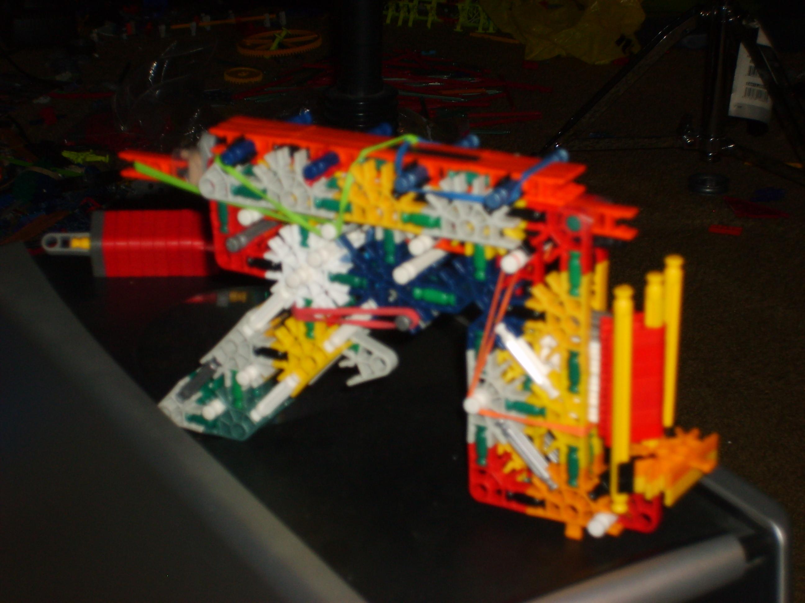knex oddammo pistol with slide