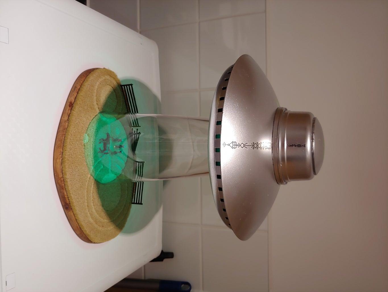 Lamp Base Diorama.