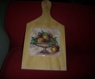 CHEESE CUTTER TABLE OR KEY HOLDER.