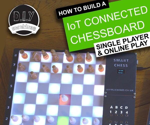 DIY Super Smart Chessboard | Play Online or Against Raspberry Pi