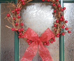 Vine & Berry Christmas Wreath