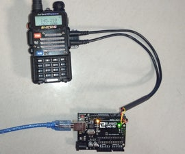 Programming Cable for Baofeng UV-5R Radio With Arduino
