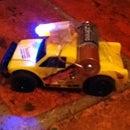 Slot Car Turned Into Motorcar