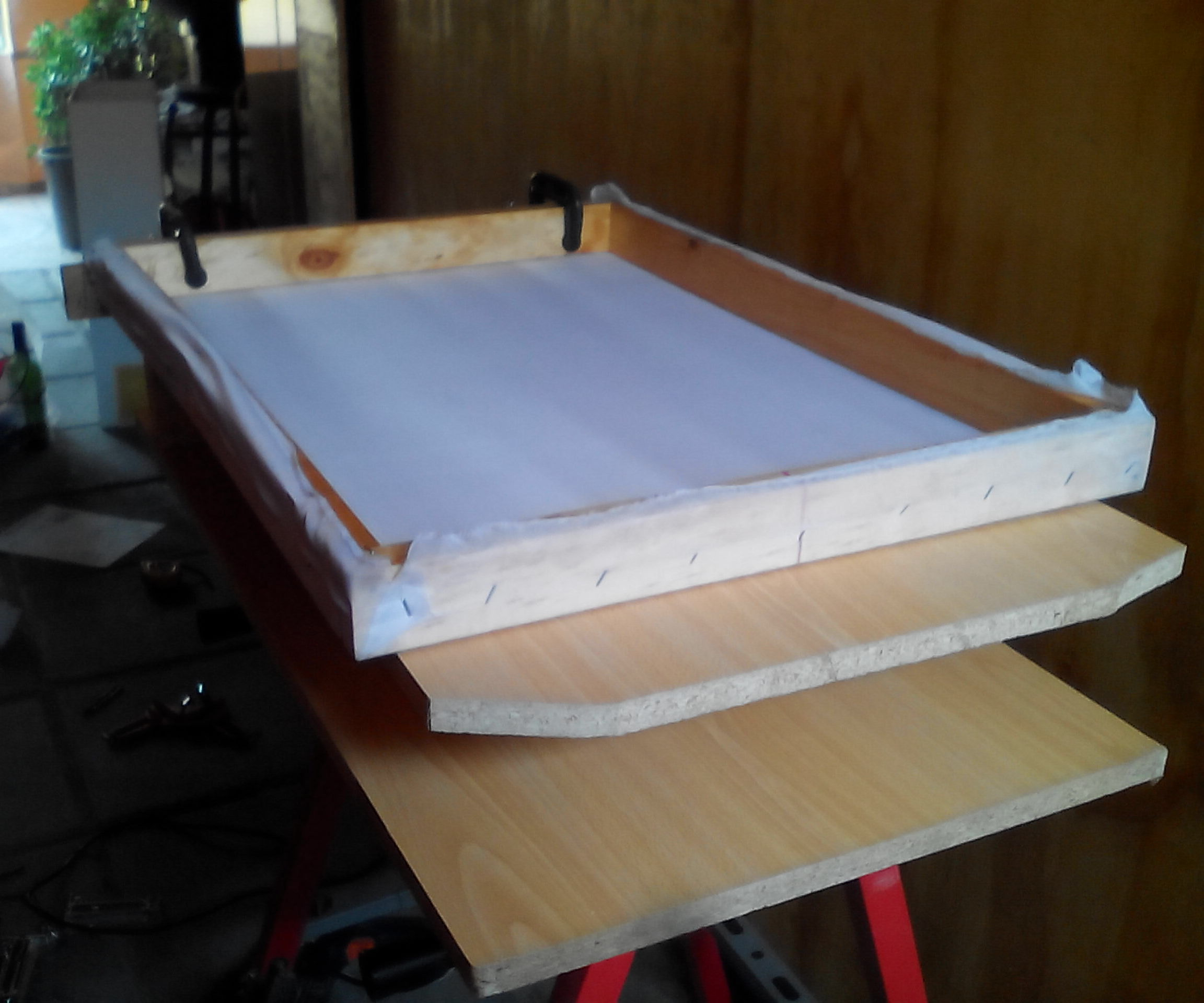 One Station Press for Screen Printing