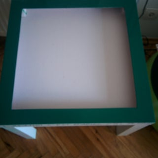 DIY Lightbox Build With Ikea Lack Table.