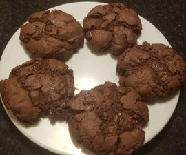 Mega Double Chocolate Chip Cookies
